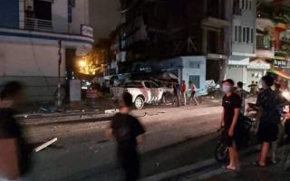'Ma men' lái xe Lexus lao vào phố đi bộ khiến một nữ cán bộ công an tử vong