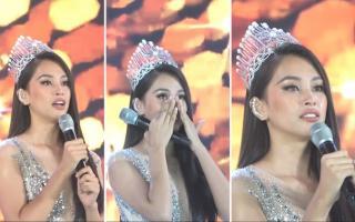 Những giọt nước mắt trên sân khấu Chung kết Hoa hậu Việt Nam
