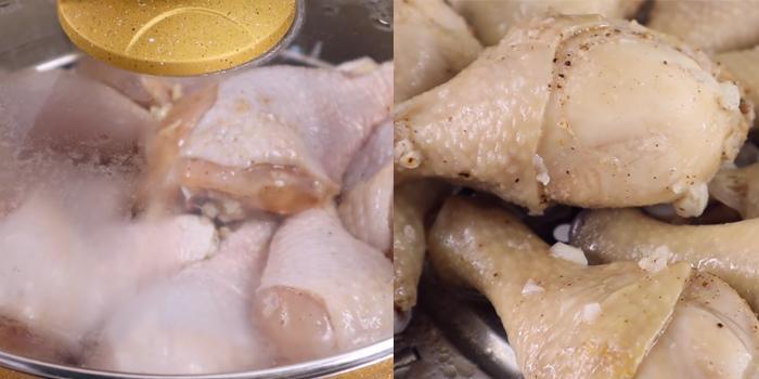 Cách làm đùi gà rán bằng nồi chiên không dầu thơm ngon không ngán